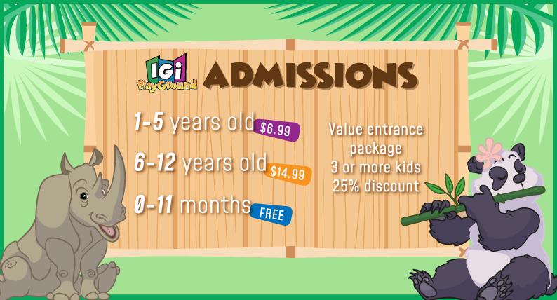 Igi Playground Admissions
